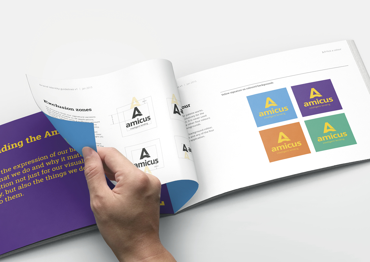 Amicus brand guidelines