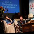 Lee Child Mark Billingham ChipLitFest