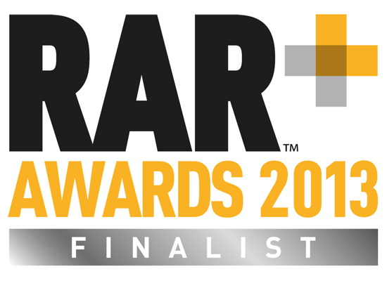 mark-making* are finalists in the RAR Awards 2013
